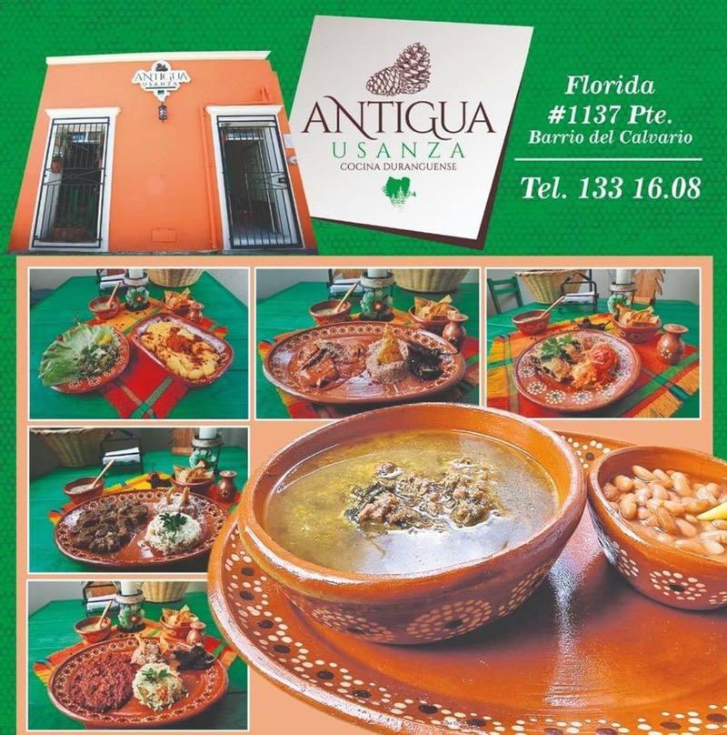 Antigua Usanza Cocina Duranguense